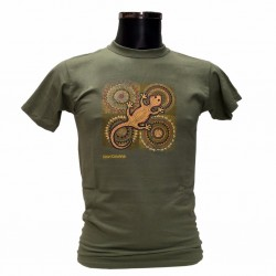 Camiseta Verde lagarto...