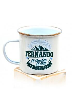 Taza Fernando 9 cm